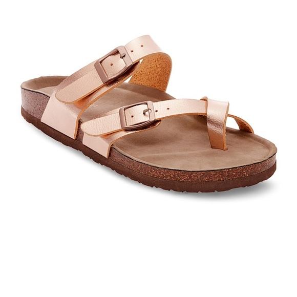 Madden Girl Shoes | Rose Gold Birks